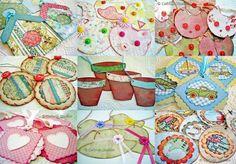 Paper scrapbook embellishments