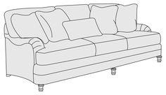 "Sofa (86-1/2"") | Bernhardt Bernhardt Furniture, Corner Chair, Sofa Home, Pillow Fabric, Back Pillow, Cushions, Pillows, Furniture Companies, Sofas"