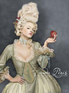 Marie Antoinette by Seleneprincess on DeviantArt