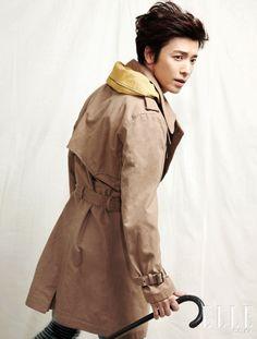 Donghae (동해) of Super Junior for Elle Magazine