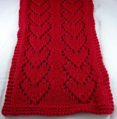 Forever Hearts Scarf