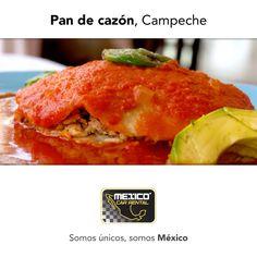 El Pan de cazón es un rico platillo típico de Campeche y se llama así debido a su forma redonda. En tu próxima visita ¿Te gustaría probarlo?