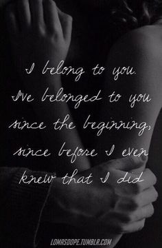 You have all of me... consumed my thoughts my Heart my Soul... my eyes look and only see you...