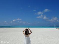 モルディブから、花嫁様のお便り  Wedding Flower・ぽると のブログ