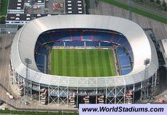 Stadion Feijenoord Stadium (De Kuip) in Rotterdam
