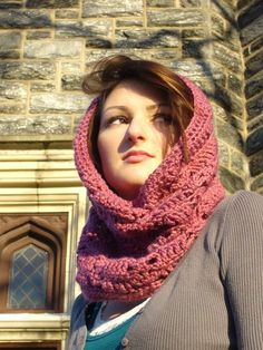 vegan cowl from etsy. ... i could do this... maybe.