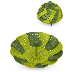 Lotus non-scratch folding steamer basket by Joseph Joseph, $17