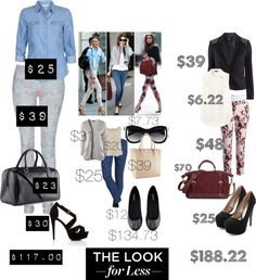 """""""Celebrity looks for Less"""" by rysheda-1 ❤ liked on Polyvore"""