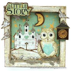 Layers of ink - Story Time Shadow Box Tutorial by Anna-Karin