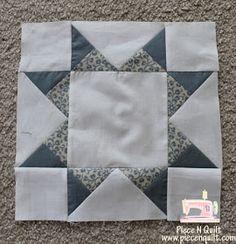 Piece N Quilt: Star Quilt {Aunt Addie's Album} tutorial