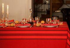 Ideas para la decoración de la mesa para la cena de Nochevieja.