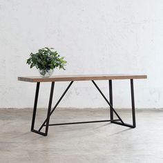 BAILEY RECYCLED TEAK CONSOLE TABLE | 150CM Teak Table, Console Table, Dining Table, Large Furniture, Teak Wood, Online Furniture, Industrial Design, Hardwood, Recycling