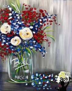 trendy flowers diy drawing canvases is part of drawings - drawings Summer Painting, Diy Painting, Painting & Drawing, Acrylic Painting For Beginners, Painting Abstract, Acrylic Painting Canvas, Diy Canvas, Canvas Art, Canvas Paintings
