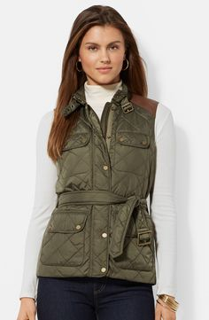 Classic Women's vests for Fall.