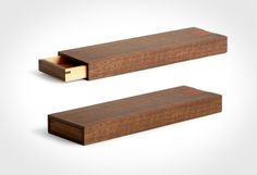 Good wood - even pencil cases can have a bit of timber infused class. The 'Free Case' by Japanese designer Tanno Masakage