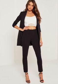 Pants   Women s Pants   Slacks. Pantalon Cigarette Taille HautePantalon ... 75771a2d917