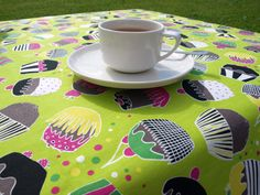 Muffins  tablecloth with fun muffin's pattern by Dreamzzzzz