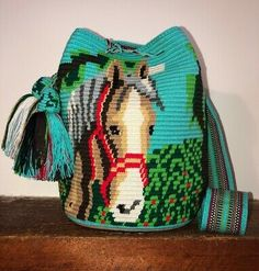 They are gorgeous unique piece of art you can take everywhere adding boho style to your look. Tapestry Bag, Tapestry Crochet, Elephant Pattern, Macrame Bag, Crochet Woman, Crochet Purses, Crochet Animals, Large Bags, Crochet Projects