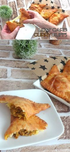 CURRY PUFFS – Keto Friendly, Low Carb, Gluten Free, Fat Head These puffs are made from the famous Fat Head Dough, so the texture of these curry puffs may not be completely light and fl…