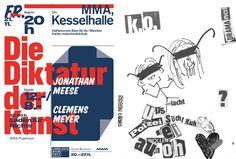 Die Diktatur der Kunst: Meese trifft Meyer (Fr., 21.11.2014, 20 Uhr) www.literaturfest-muenchen.de/navi2/forumautoren/ www.diktatur-der-kunst.org