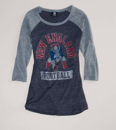 New England Patriots NFL Raglan T