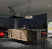 Funcional e incomum Kitchen Set Of Bamboo | DigsDigs