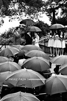 is it weird that i really want it to rain on my wedding day?