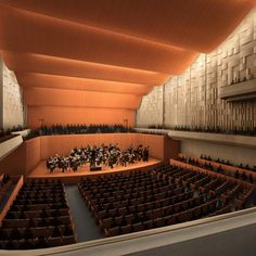 Ordway Center for the Performing Arts interior rendering 1