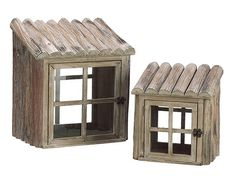 Set of 2 Natural Country Rustic Wooden Nesting Greenhouse Terrariums 1217 * Check this awesome product by going to the link at the image. (This is an affiliate link) Commercial Greenhouse, Outdoor Greenhouse, Wood Pumpkins, Wood Stars, Wooden Fence, Miniature Fairy Gardens, Rustic Wood, Home Crafts, Decorative Boxes