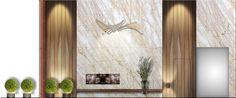 100 Van Ness Lobby Elevation design by McCARTAN #luxury #design #interior