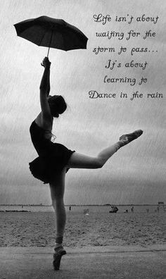 Dance in the storm..