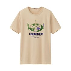 Alien from Toy Story Pixar tee shirt made by Japanese brand UNIQLO. Nice and cheap!