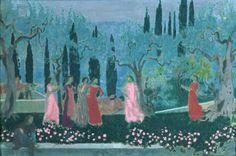 Maurice Denis (1866-1926) Le soir florentin, 1907 Huile sur toile Nancy, Musée des Beaux-Arts