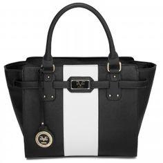 e9e584230f4b Loving this Versace 1969 Blue   White Kerrington Satchel on. BNY Handbags