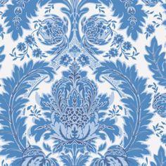 Cole & Son Coleridge Blue And White Wallpaper Tapestry Wallpaper, Coastal Wallpaper, Toile Wallpaper, Victorian Wallpaper, Wallpaper Decor, Wallpaper Samples, Print Wallpaper, Blue And White Wallpaper, Cole And Son Wallpaper