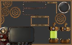 Steampunk Textures : Graphic UI Mods : World of Warcraft AddOns