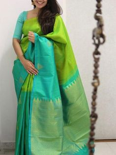 Copy of Rich Parrot color Soft Silk Designer Saree – Misri Fab Kota Silk Saree, Wedding Silk Saree, Silk Cotton Sarees, Pure Silk Sarees, Silk Sarees With Price, Indian Silk Sarees, Saree Color Combinations, Color Combos, Sari Bluse