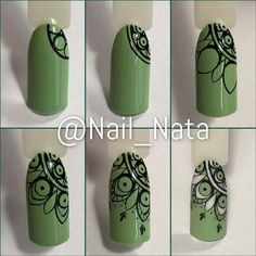 Super Fails Art Tutorial Step By Step Design Ideas Nail Art Mandala, Nail Art Dentelle, Nail Art Arabesque, Fail Nails, Gel Nagel Design, Finger, Classy Nails, Toe Nail Designs, Easy Nail Art