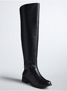 96000260825 These over-the-knee boots will have you smoothing over any fall outfit  dilemmas