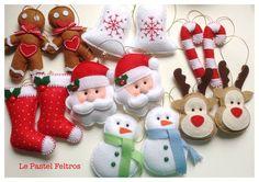 Projects To Try, Felt, Christmas Ornaments, Holiday Decor, Home Decor, Xmas, Manualidades, Advent Season, Crafting