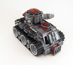 Some people can create art out of Lego. Other people can create kick-arse combat machines that would be at home crushing enemies, conquering planets or def