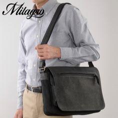 Milagro(ミラグロ)バッファローレザー A4フラップショルダーバッグ