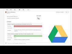 Crea y corrige examenes -tipo test- con Google Drive - YouTube