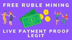 Free Ruble Mining Site Live Payment Proof Legit & Trusted Ruble Earning ... Make Money Online, How To Make Money, Bitcoin Faucet, Help Me Grow, Teaching, Live, Education, Onderwijs, Learning