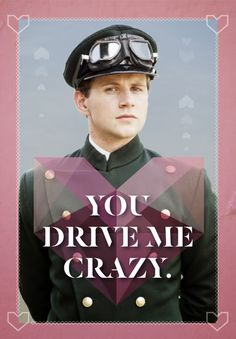 LOVE these Valentines by yenniper! ~ Downton Abbey takes on Valentine's Day & wins!