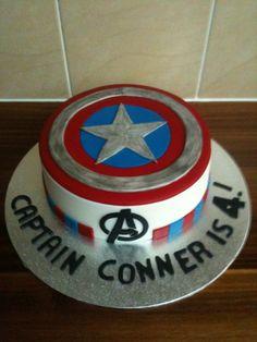 Captain America by Sweet Blossom Cakes CakesDecorcom cake