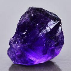 unique stones ; 8.20ct Natural Purple Amethyst Raw Rough Crystal Mined Facet Specimen Uruguay   eBay
