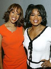 Oprah and best friend Gayle King