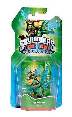 Brand new skylanders trap team high five #figure game #accessory ages 6 #years+,  View more on the LINK: 	http://www.zeppy.io/product/gb/2/291874394137/