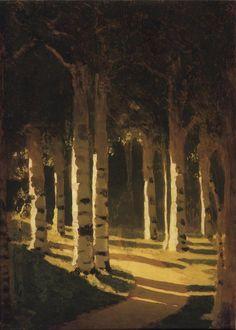 Sunlight in the Park - Arkhip Kuindzhi - WikiArt.org
